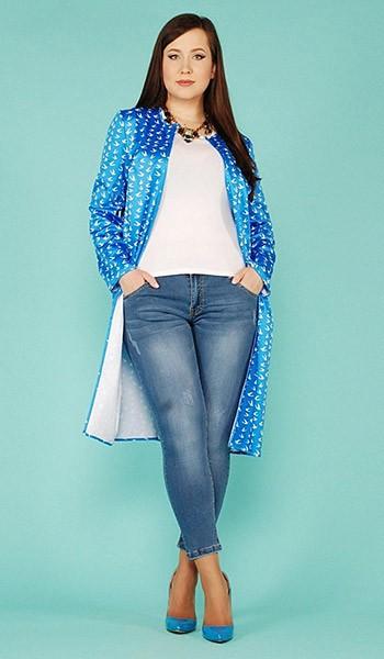 d4683e79453 Женские демисезонные пальто больших размеров — Мода для полных