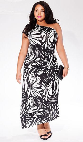 d442ad7e491 Фасоны платьев для полных женщин — как правильно выбрать — Мода для ...