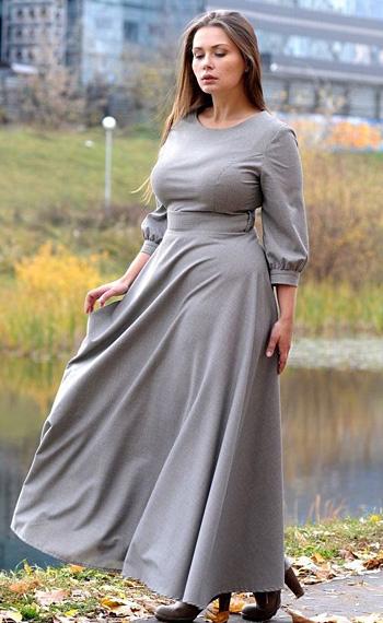 9863ad69ac35686 Плюс этого фасона в том, что он одинаково красиво смотрится при любой  длине. Вырез горловины для платья А-силуэта ...