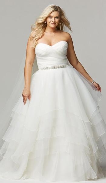 c0ac68c94b9eee1 Платья А-силуэта для полных женщин — особенности фасона — Мода для ...