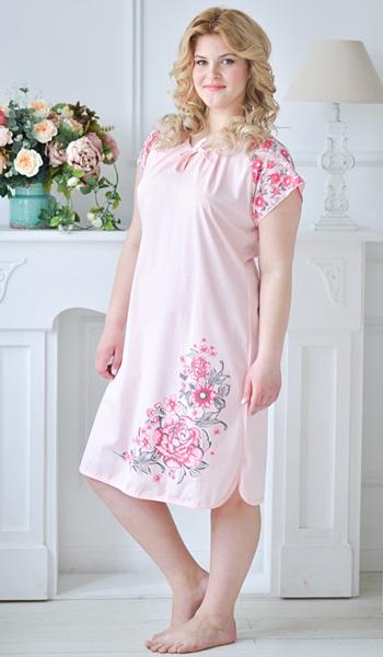 1a63ae57d33690d Ночные сорочки для полных женщин — удобство и красота — Мода для полных