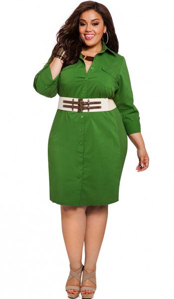platie-rybashka-2 Летние платья для полных женщин — особенности фасонов и расцветок – Мода для полных